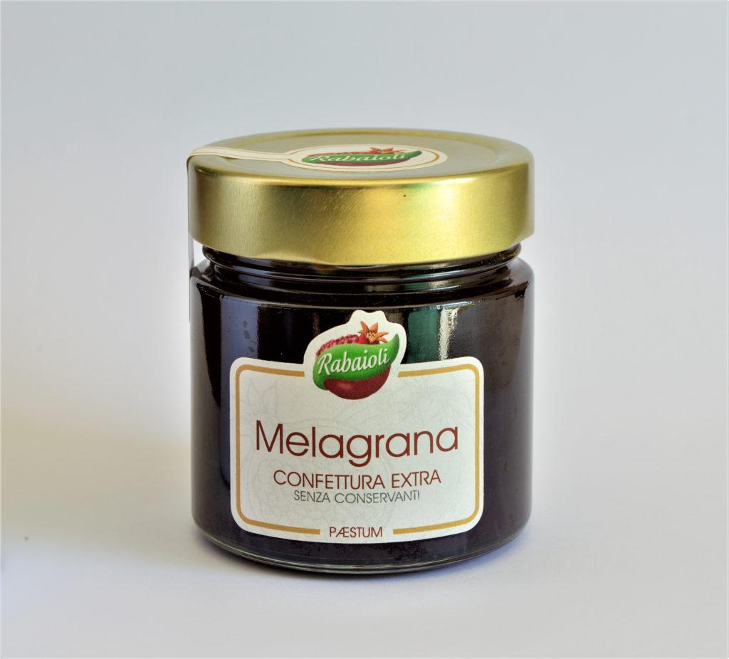 Confettura, marmellata, di melagrana extra di Paestum